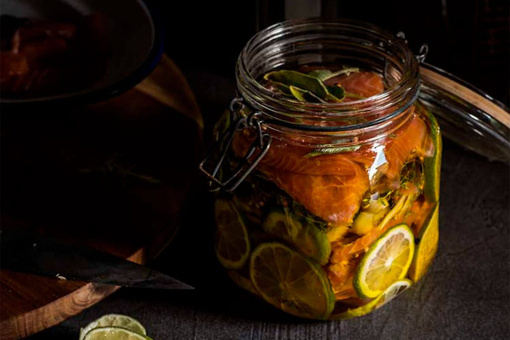 Conservas en aceite de oliva